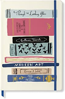 Kate Spade New York Take Note XL Vegan Leather Notebook, Bound Journal Includes 168 Lined Pages, Stack of Classics
