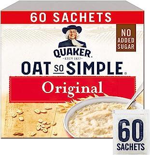 Quaker Oats So Simple Original Microondas 27g Bolsitas X 60