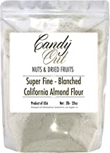 CandyOut Almond Flour 2 Pounds Super Fine California Blanched Almond Meal