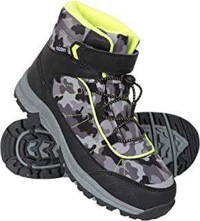 Mountain Warehouse Camo Waterproof Kids Boots - Casual Walking Boots