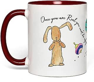 Velveteen Rabbit Book Quote Mug Gift