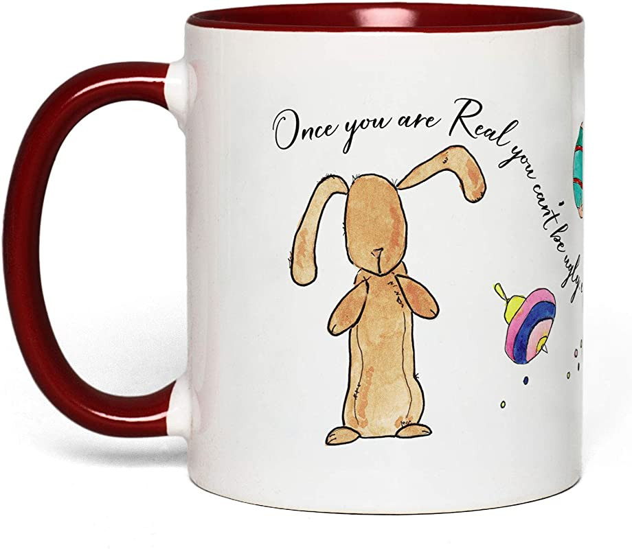 Velveteen Rabbit Book Quote Mug Gift