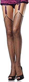 Women's Unfinished Top Industrial Fishnet Stockings