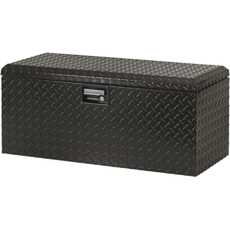 Lund 288271 Challenger Series Brite ATV Rear Storage Box , Black