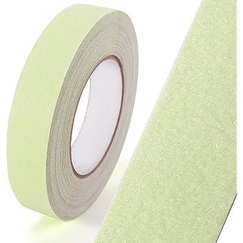 SurePromise One Stop Solution for Sourcing Cinta Antideslizante Adhesiva Reflectante para escaleras duchas Piscinas Zonas de maquinaria Camiones con Lados rúidos Cinta Señolizacion (Fotoluminiscente): Amazon.es: Hogar