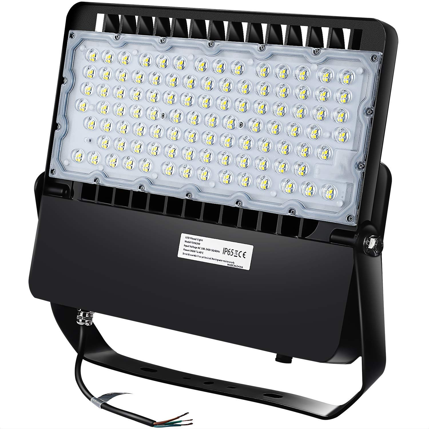 Ledmo Led Stadium Flood Lights Outdoor 1500w Equivalent 36000lm Super Bright Led Led Arena Lights 100 277v Ip65 Waterproof 5000k Daylight White 240w Commercial Lighting For Sports Fields And Counts Amazon Com