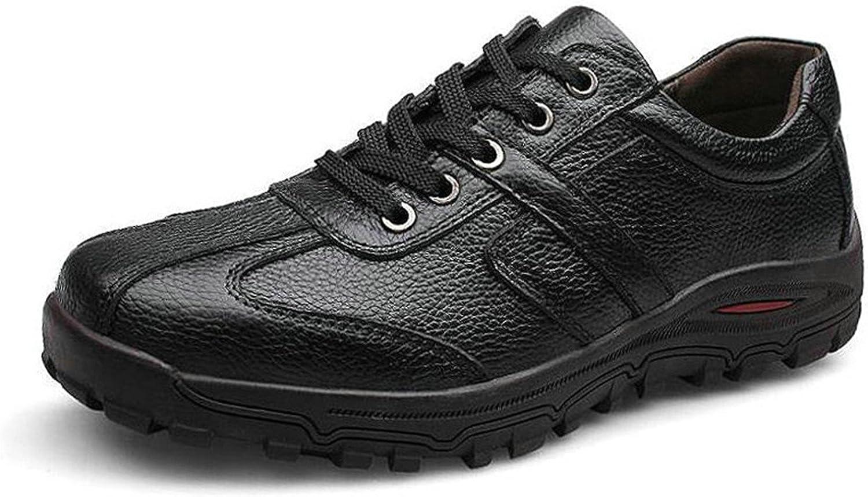 Susan1999 Genuine Leather Men Flats shoes Fashion Handmade Soft Leather shoes
