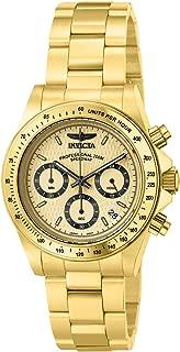 Men's 14929 Speedway Analog Display Japanese Quartz Gold Watch