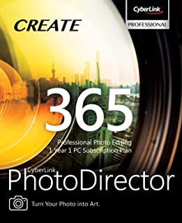 CyberLink PhotoDirector 365 - 1 year subscription [PC Download]