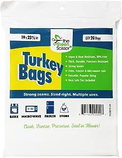 The Green Scissor Turkey Bags - 20 Pack
