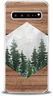 Lex Altern TPU Case for Samsung Galaxy s10 Plus 10e Note 10 5G 9 s9 s8 Pattern Forest Soft Girls Flexible Slim fit Clear Lightweight Cover Wood Design Geometric Gift Smooth Print Phone Women Nature