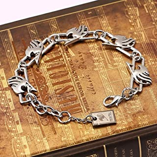 Value-Smart-Toys - Anime Fairy Tail Metal charm Bracelet with lobster clasps Cosplay Bangle Gift Jewelry Cosplay Accessories