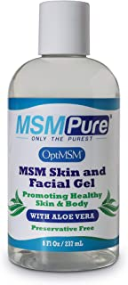Sponsored Ad - Kala Health MSMPure Max Strength Skin and Facial MSM Gel with Organic Aloe, 8 oz, Preservative Free, Made i...