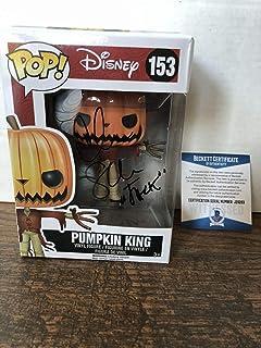 Chris Sarandon Autographed Signed Nightmare Before Christmas Funko Pop Pumpkin King Beckett