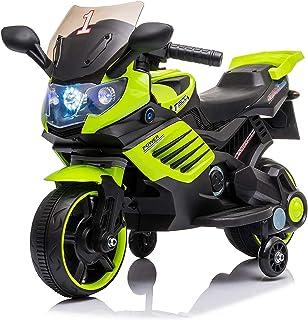 LEMORTH 3-6 jaar Kinderen Dirt Bike Motorfiets, Elektrische Pedaal Motorfiets Ride-On Toy, Kids Elektrische Pedaal Motorfi...
