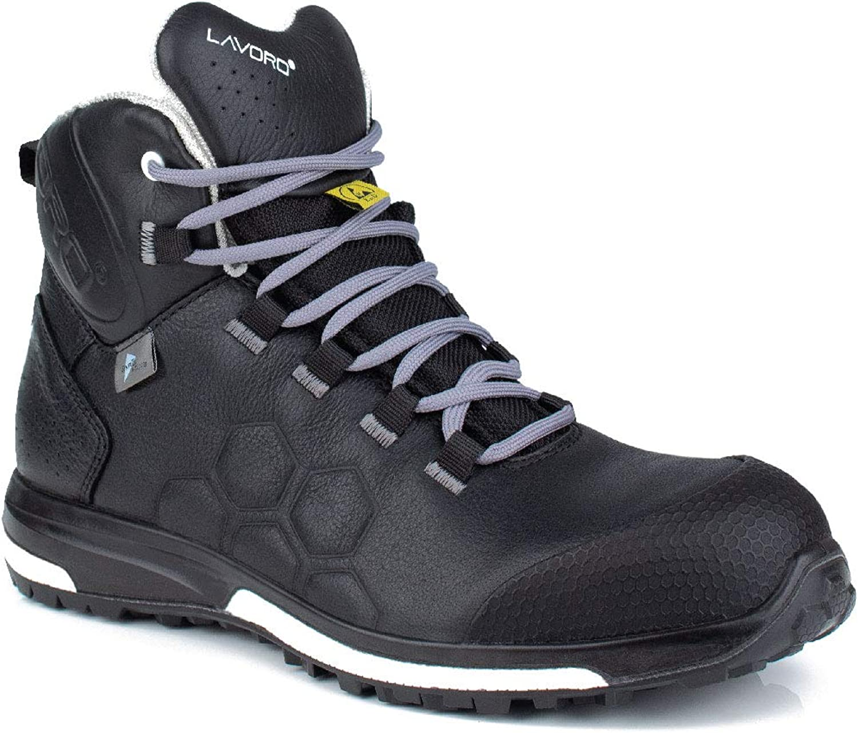 Lavoro 1004.10 TT Range Solo, stivali impermeabili senza mettuttio, ESD, CE, S3, HRO, SRC, nero, 3 misure