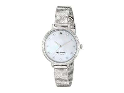 Kate Spade New York Morningside Stainless Steel Mesh Watch KSW1573 (Silver) Watches