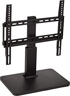 """AmazonBasics Pedestal TV Mount for 32-65"""" TV with Swivel Feature (Renewed)"""
