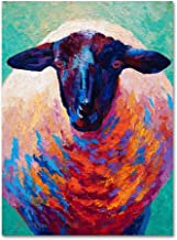 Suffolk Ewe 4 by Marion Rose, 18x24-Inch Canvas Wall Art