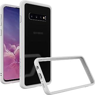 RhinoShield(ライノシールド)Samsung Galaxy S10 バンパーケース 衝撃吸収 スリム設計 ワイヤレス充電対応 [3.5mの落下保護] - ホワイト