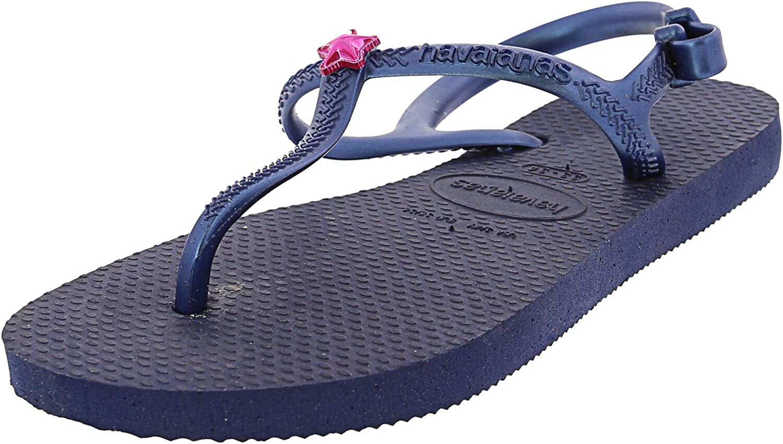 Havaianas Girl's H. Kids Freedom Sl Cf Rubber Flat Shoe