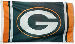 Winner-Sports NFL Green Bay Packers 3x5 Foot Polyester Flag - Vivid Color and Double Stitched - Super Bowl Banner with Brass Grommets 3 X 5 FT