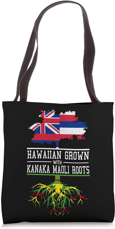 Hawaii Inspired Hawaiian Grown with Kanaka Maoli Roots Tote Bag