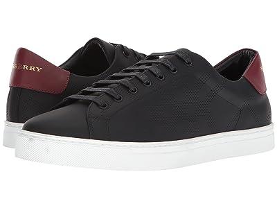Burberry Albert Perforated Sneaker (Black) Men
