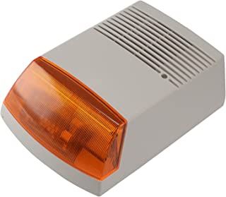 Falsa alarma antirrobo caja - alarma falsa - funciona con energía Solar con iluminación LED