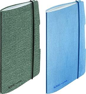 A6 blau flexibel mit Leinenbezug Timer Farbe Herlitz Kalender 2020