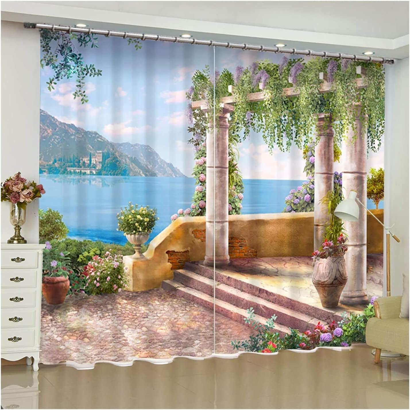 Daesar Curtains for Windows Bedroom 2 Pan Blackout Credence Tulsa Mall
