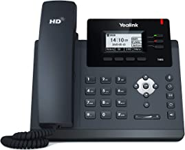 $81 » Yealink T40G IP Phone, 3 Lines. 2.3-Inch Graphical LCD. Dual-Port Gigabit Ethernet, 802.3af PoE, Power Adapter Not Included (SIP-T40G)