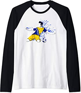 Bosnia and Herzegovina National Soccer Team Jersey Football Raglan Baseball Tee