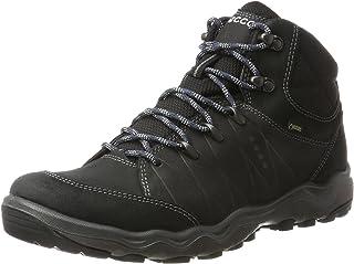 ECCO Ulterra Men's Shoes, Black/Black Oil