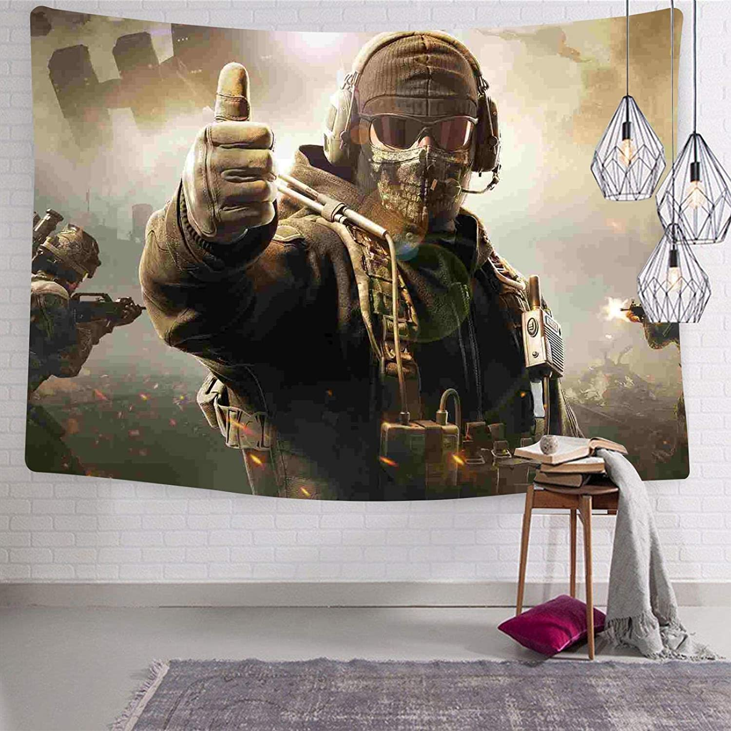 3. Call of Duty 3D Wall Hanging Tapestries