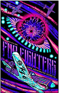 foo fighters poster 2015