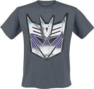 Transformers Shirt Distressed Decepticon Shield Nuevo Oficial de Los Hombres
