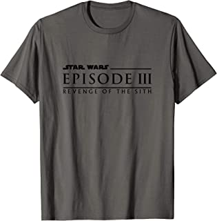 Revenge of the Sith Episode 3 Movie Logo T-Shirt