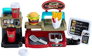 Theo Klein - Burger Shop Premium Toys for Kids Ages 3 Years & Up
