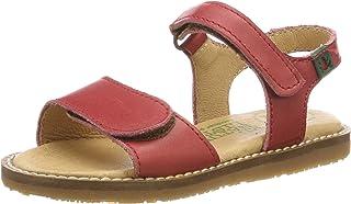La Primera Elección del Niño Sandalias Romanas de niña bebé de Flores Zapatos de Princesa Zapatos Planos Zapatilla de niñas de Playa Zapatos de Cuna Chica Sandalias Niña Verano Princesa Rojas