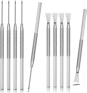 #01 Clay Pottery Tool Drahtb/ürste Clay Ceramics Sculpting Modeling Needle Texture
