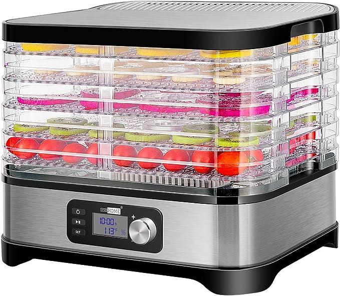 VIVOHOME Electric 400W 5 Trays Food Dehydrator Machine - Fantastic Budget-Friendly Jerky Dehydrator