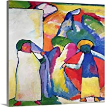 GREATBIGCANVAS Gallery-Wrapped Canvas Improvisation No. 6 (Africans) by Wassily Kandinsky 30