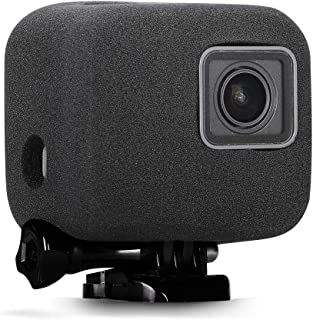 【Taisioner】GoPro HERO5/6/7用 防風カバー 防風スポンジケース 騒音防止 録音ノイズ対策 スポンジ製カバー/ケース ブラック