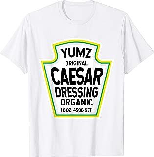 Caesar Dressing Salad Easy Halloween Costume Matching Group T-Shirt