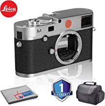 Leica M (Typ 240) Digital Rangefinder Camera (Silver) Bundle with 1 Year Extended Warranty + Carrying Case and More