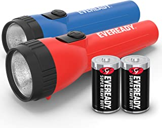 EVEREADY LED Flashlight Multi-Pack, Bright Flash Light, Durable and Easy-To-Use, Perfect Flashlights For Camping Accessori...