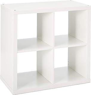 """IKEA 202.758.14 واحد قفسه KALLAX ، 30 3 / 8x30 3/8 """""""" ، سفید"""