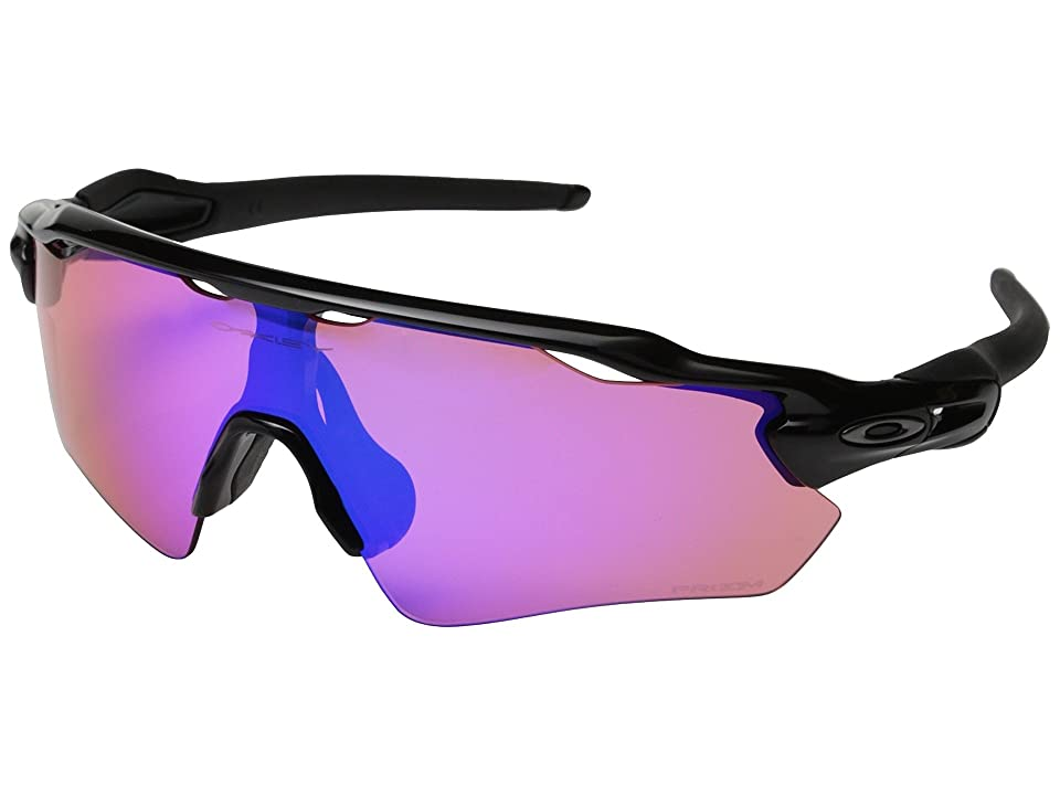 Oakley Radar EV (Polished Black w/Prizm Trail) Sport Sunglasses