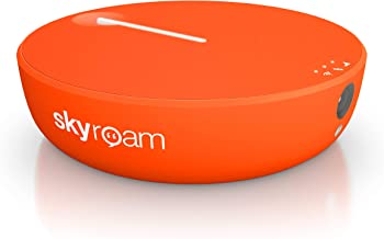 Skyroam Solis X – Dispositivo de Acceso WiFi Móvil para 10 usuarios, 4G LTE, Bluetooth LE, Power Bank 4700 mAh y Duración de hasta 16 horas, Cámara con Temporizador de 8 MP y Flash, Hotspot 130 países